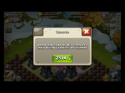Castle Clash Shard Donating Contest Has Started