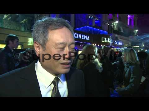 INTERVIEW: Ang Lee on the difficulties of making the movi...