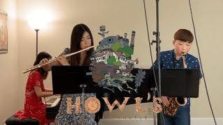 "Howl's Moving Castle ""Merry Go Round of Life"" Trio (Flute, Sax, Piano) 하울의 움직이는 성"