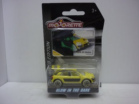 Majorette Limited Edition Series 4 Citroen C4 Cactus unboxing and review