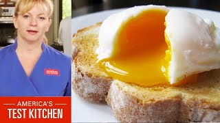 learn to cook bridget lancaster explains how to poach an egg