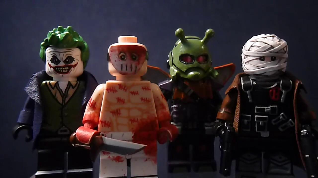 Custom Lego Batman Villain Minifigures Part 7 (Hush, Zsasz ...