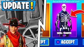 'BIG' Fortnite Leaks! GIFTING Tonight, Wild West LTM, New Skins! ( Mise à jour )