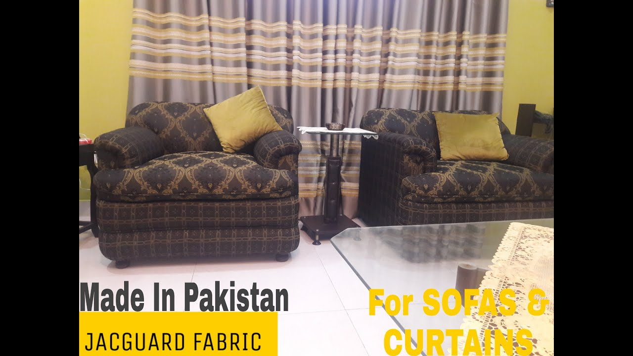 Curtains And Sofa Fabric In Karachi | SOFA CLOTHES PARDA CLOTHES | A Bit Different Interiors - YouTube