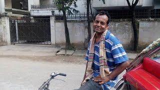 Rickshaw Puller Speaks Fluent English with British Accent