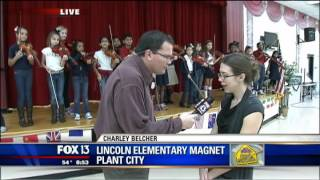 Charley Cool School - Lincoln Elementary Magnet - 850am