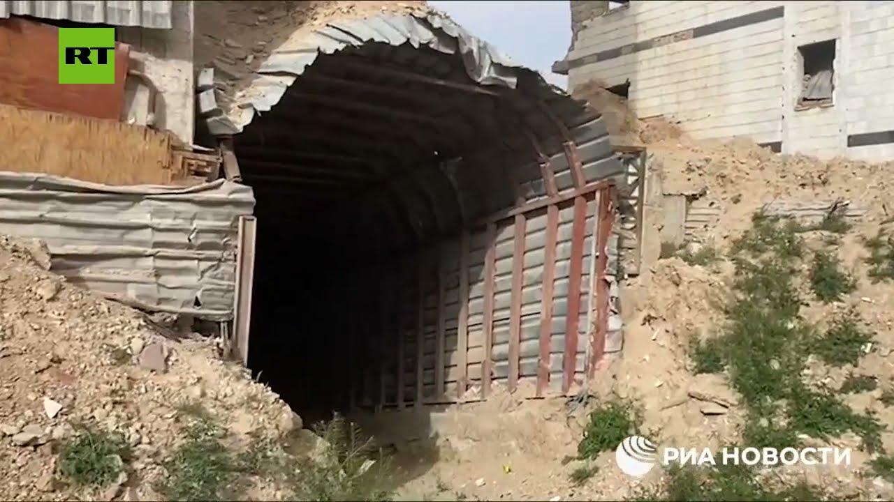 شاهد.. مراسل يكشف عن نفق عملاق للإرهابيين في ريف دمشق  - نشر قبل 2 ساعة