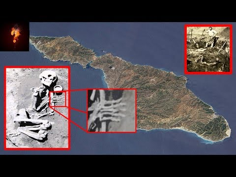 3000 Six Fingered Giants Found In Channel Islands?