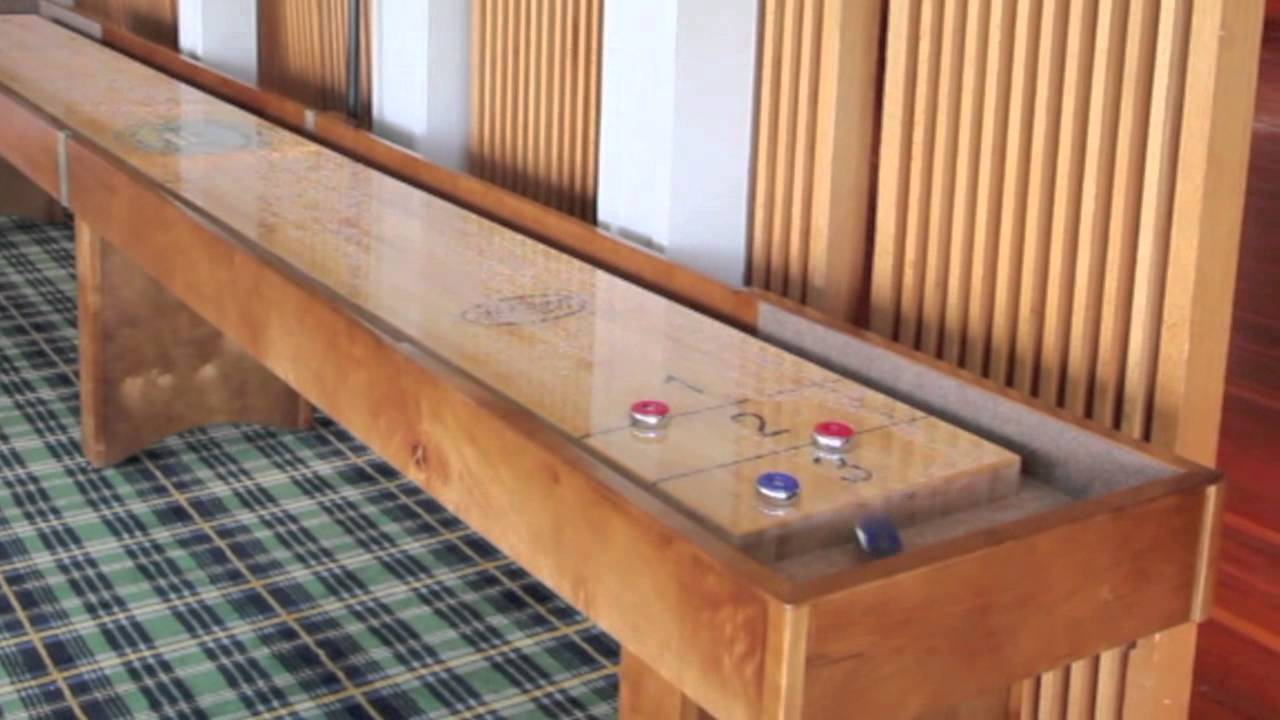 How To Play Shuffleboard: Scoring A Knock Off   YouTube