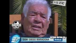 Don Diego Maradona habla de Maradona 2008