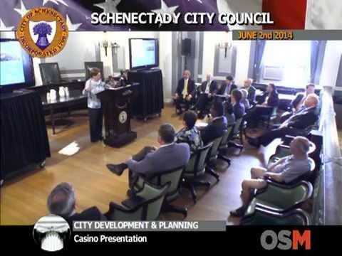 Casino Gaming Presentation in Schenectady New York