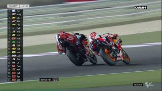 MOTO GP / Qatar GP : Le dernier tour de la course dans les conditions du direct !