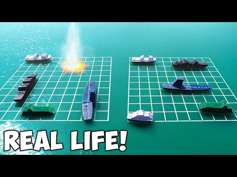 A.D. Berry - WOW!!!  Playing Battleship With Real Ships
