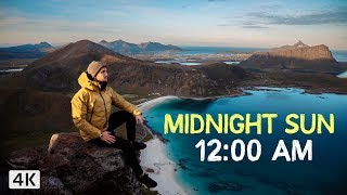 24 HOURS of SUN - Lofoten Norway (4K)