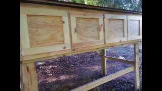 Slideshow Of The Making A 4-bay Rabbit Hutch