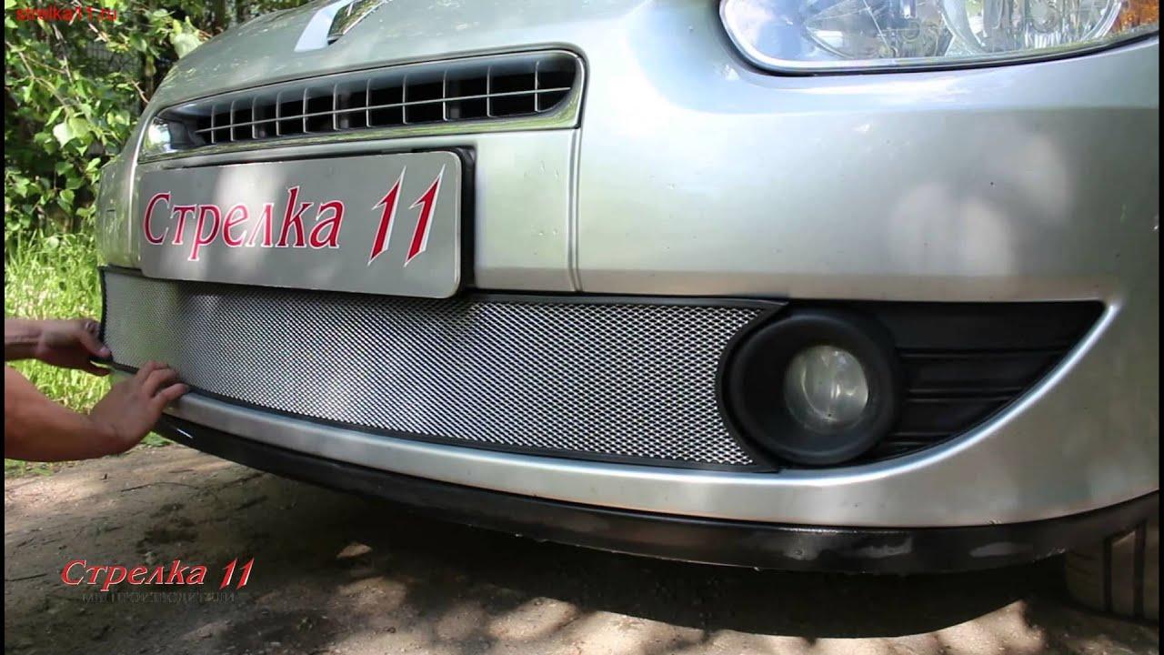 Защита радиатора для RENAULT FLUENCE I 2009 2013г.в. (Хром)   Strelka11.ru