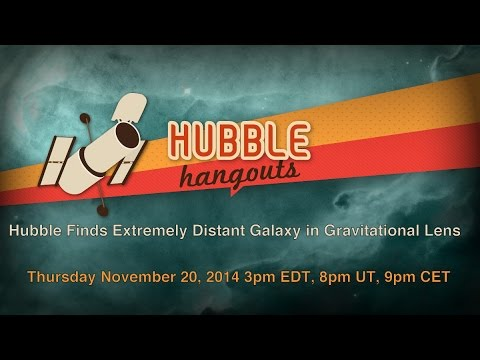 Hubble Finds Extremely Distant Galaxy in Gravitational Lens