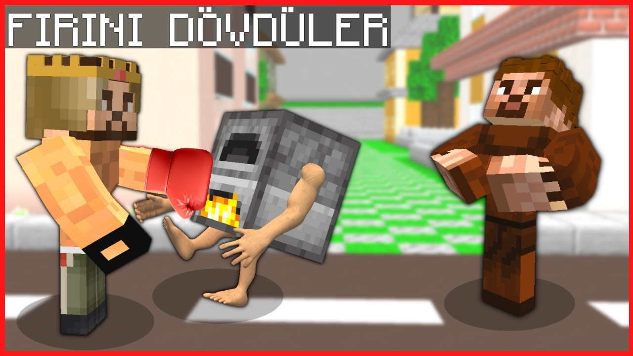 KASLI ARDA VE RÜZGAR KORKUNÇ FIRIN'I DÖVDÜ! 😱 - Minecraft