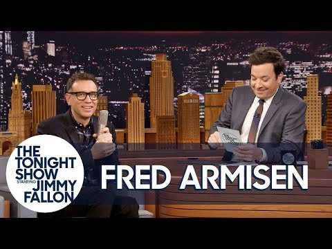 Jimmy Remixes Fred Armisen's Random Exertion Noises into a Sick Beat