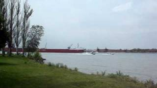 Lake Freighter CSL Niagara & Home Land Security