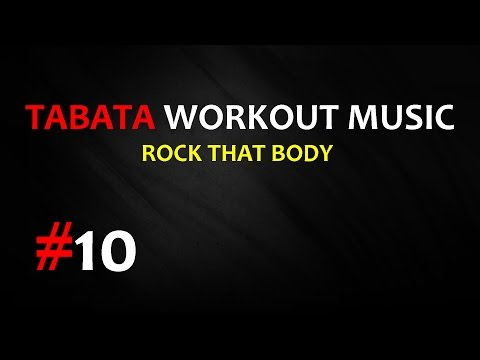 Tabata Workout Music - Rock That Body (The Black Eyed Peas) #10 - TIMER