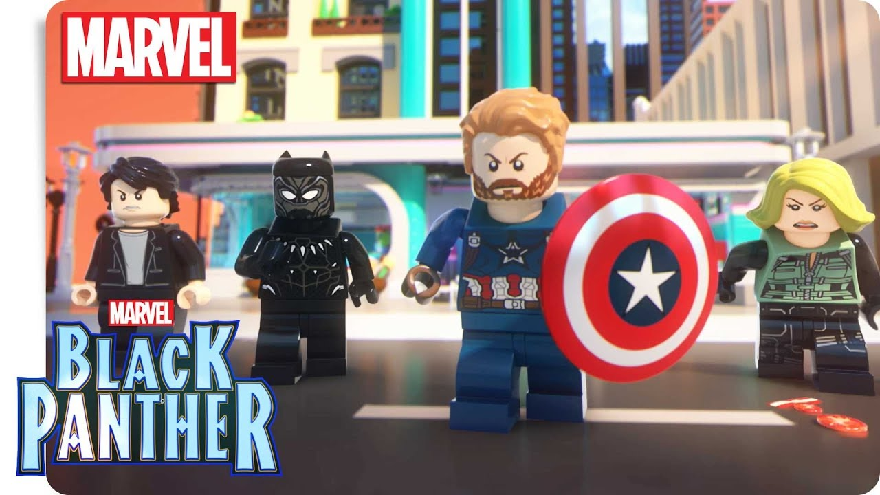Marvel Super Heroes Black Panther ärger In Wakanda Ep 1 Black Panther In Action