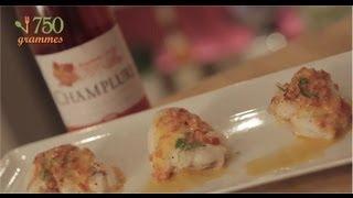 Recette de Filet de lotte, beurre rosé aux poivrons - 750g