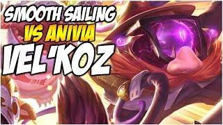 SMOOTH SAILING VEL'KOZ (STEVE) Vs Anivia | League of Legends