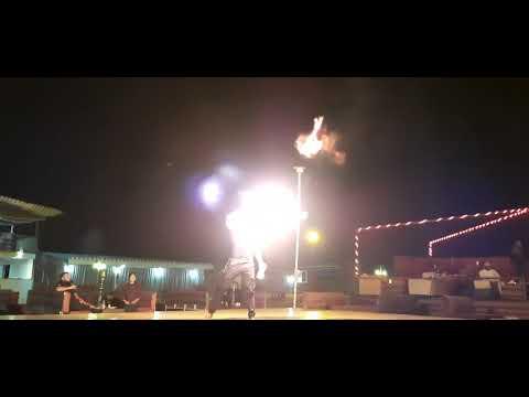 Dubai desert safari Fire Dance. Desert night Camp, Adventure camp, Family trip Dubai, Best outing