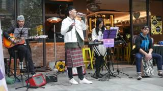CheungSound busking in East Lounge 25/2 - 無表面傷痕