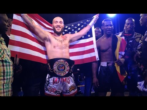 Richard Abraham vs Golola Moses | USA vs Uganda Kickboxing