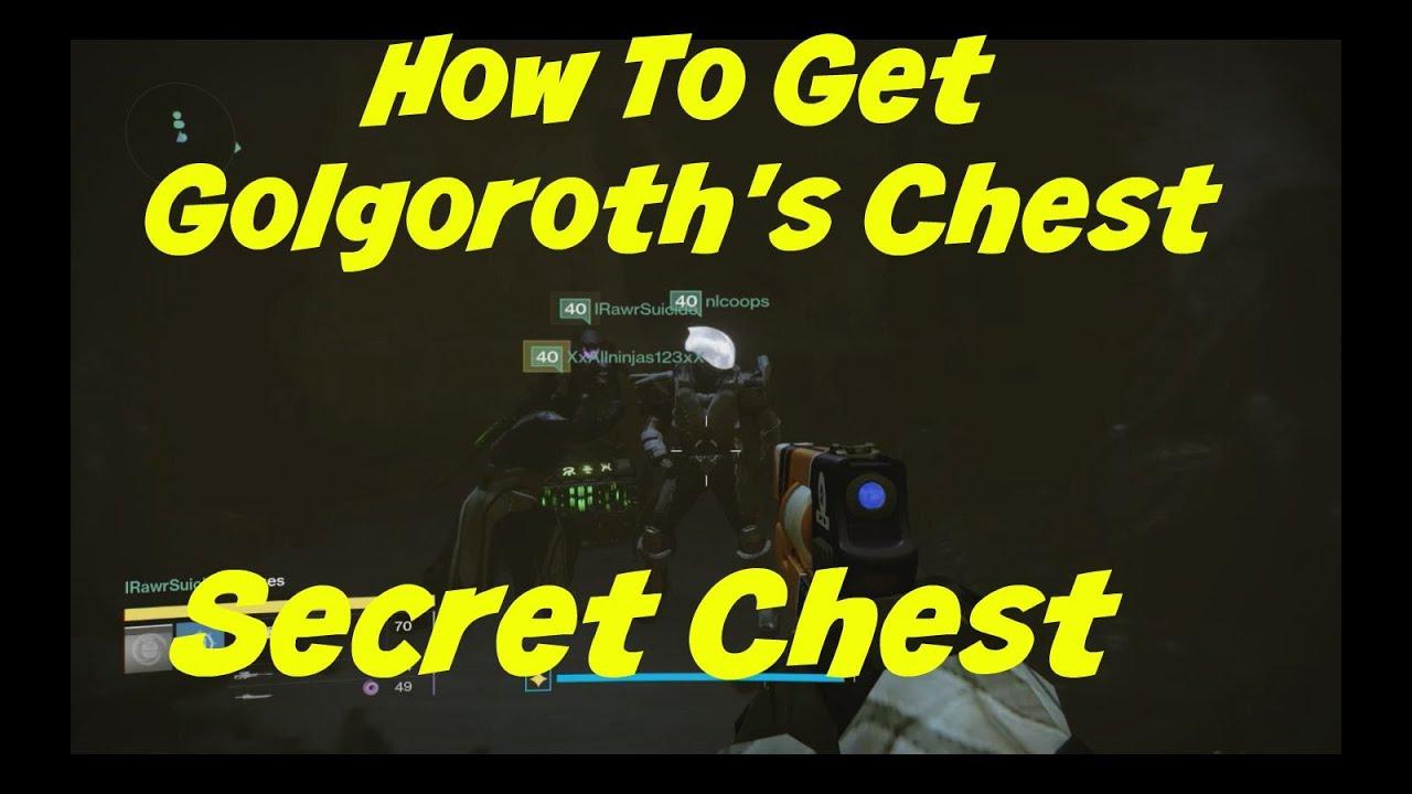 Destiny Taken Kings Raid Secret Chest Gorgoroths Cellar