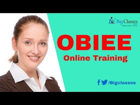 OBIEE 11g Training Videos - OBIEE Tutorials for Beginners - bigclasses