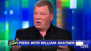 Piers Morgan - William Shatner:  I'm Proud To Be Canadian -  08/11/2013