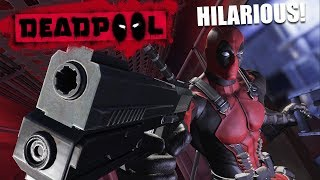 THIS GAME TALKS BACK TO YOU & I LOVE IT! | Deadpool [1]