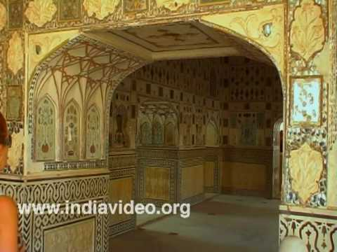 Interior works at Amber fort