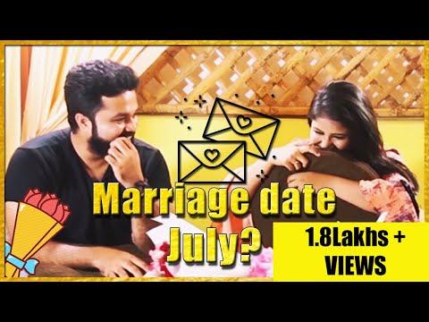 OMG! Alya Manasa & Sanjeev Marriage Date Exclusive Interview PART-6