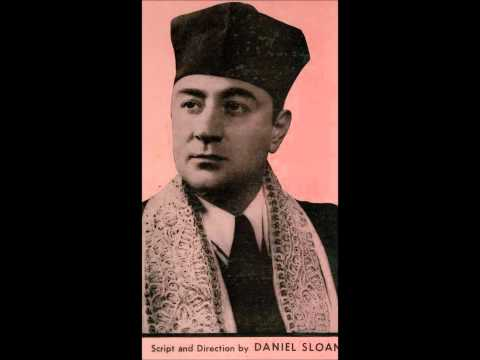 Cantor Moshe Oysher Live Shacharis Pesach 1956 in the pine hotel 2.
