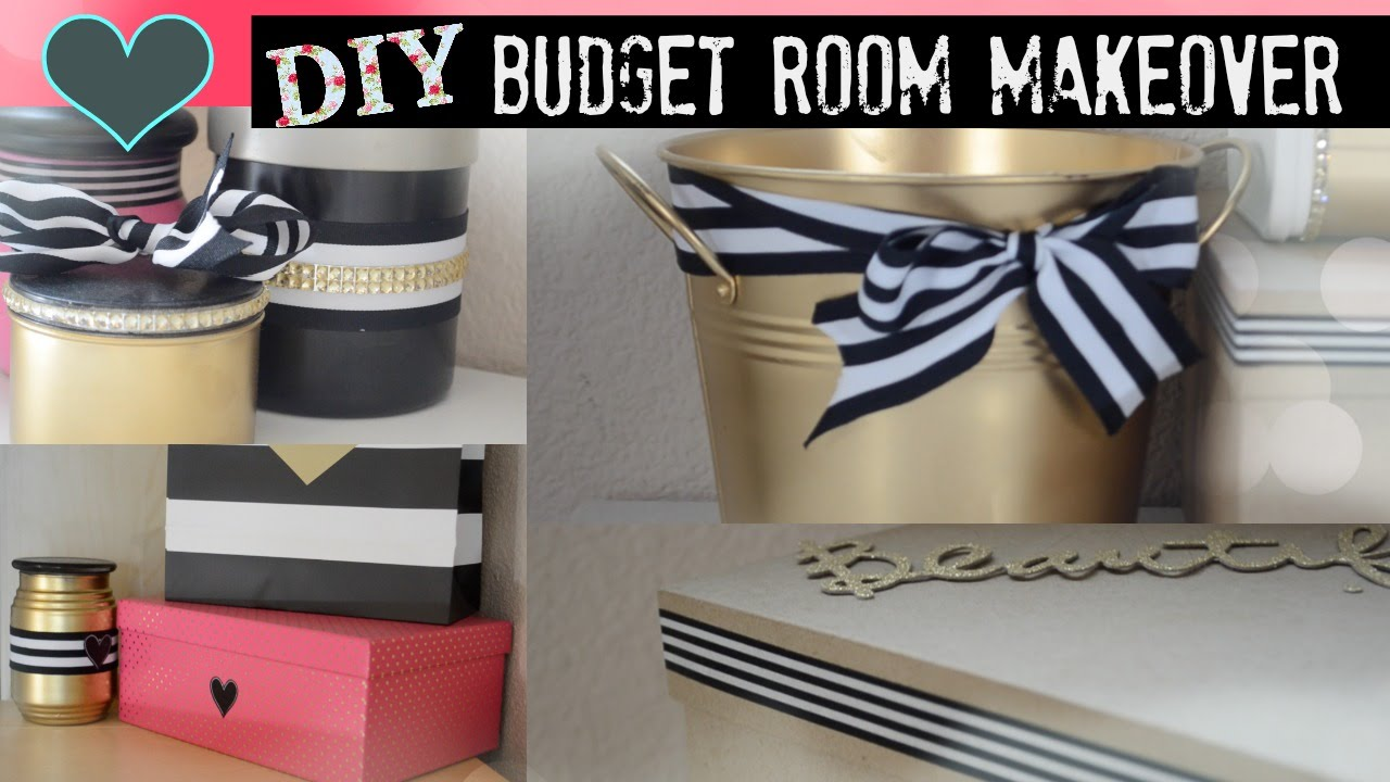 diy room makeover on a budget youtube