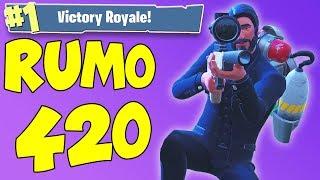 SABADÃO RUMO 420 VITÓRIAS SOLO!! (Fortnite Battle Royale)