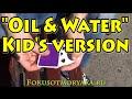 EASY CARD MAGIC TRICKS FOR KIDS - OIL & WATER. MAGIC TRICKS TUTORIAL #magictricks