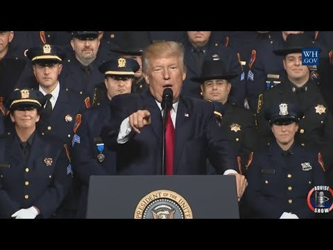 Donald Trump Endorse Police Brutality Upon American Citizens
