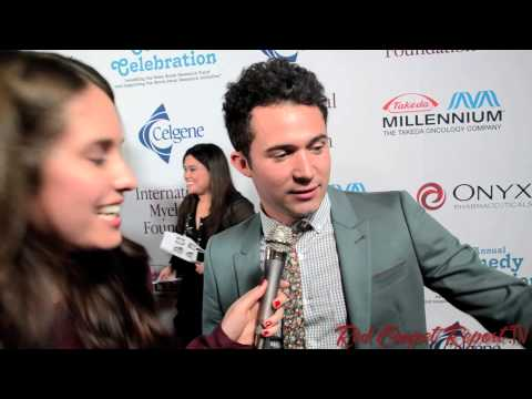 Justin Willman at the 7th Annual @IMFmyeloma Comedy Celebration! #IMFcomedy