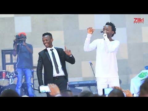 Bahati & David Wonder Perform NDOGO NDOGO for the 1st time On  Bambika (Citizen T.V)