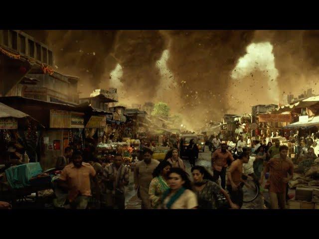 巨大雹、マグマ、竜巻が人類を襲う!映画『ジオストーム』予告編