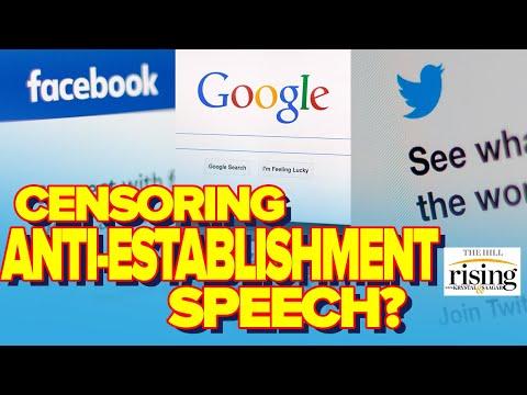 Tech Author: How Big Tech Companies Censor Anti-Establishment Speech