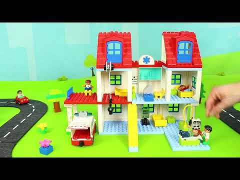 Train, Fire Truck, Tractor, Police Cars, Excavator, Dump Trucks & Bus Toy Vehicles for Kids