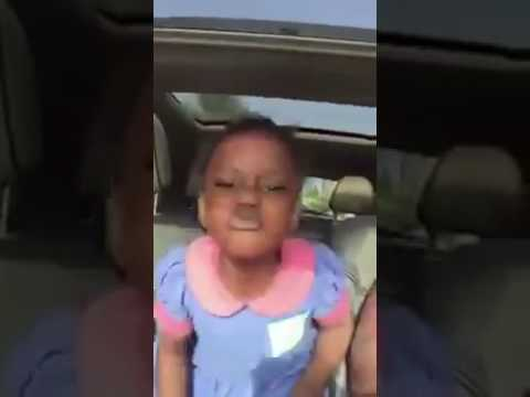Amazing!!! 4 year old girl performed Shatta Wale's