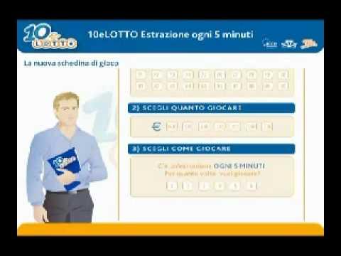 Www10elotto Estrazioni Ogni 5 Minuti Il 10 E Lotto Con Estrazione