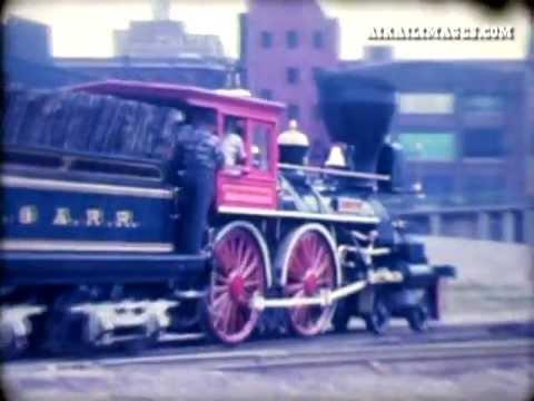 "Civil War Steam Locomotive ""General"" 1962 Run"